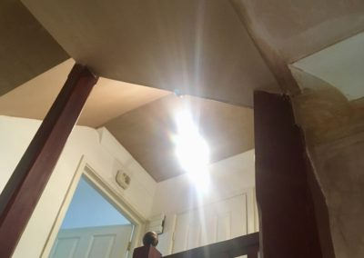 Hall, Stairs and Landing Ceilings Artex Covered