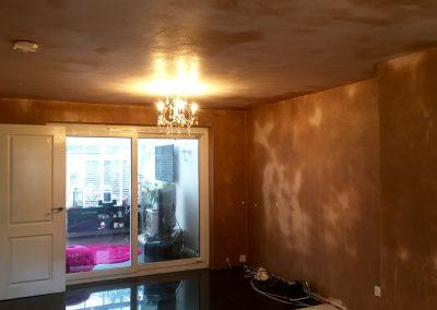 Living Room fully plastered skimmed