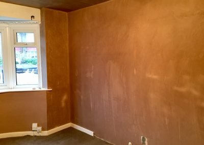 Living Room Skimmed and Doorway Closed Off