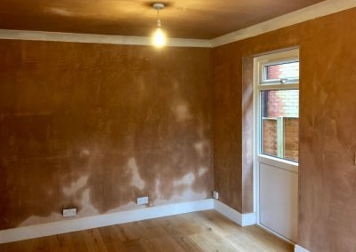 Plastered room in Swanmore