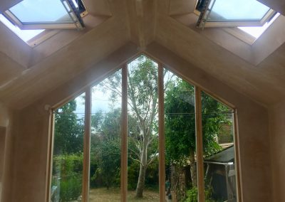 Vaulted Ceiling Kitchen Extension