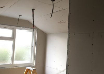 Loft Extension Before Plastering