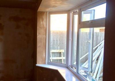 Bay window skimmed