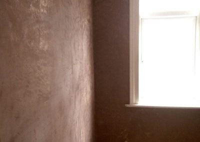 ully rendered and plastered walls in Gosport